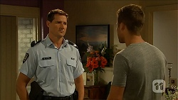 Matt Turner, Mark Brennan in Neighbours Episode 6858