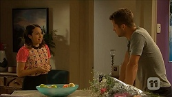 Imogen Willis, Mark Brennan in Neighbours Episode 6858