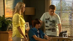 Lauren Turner, Bailey Turner, Callum Jones in Neighbours Episode 6858