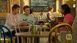 Susan Kennedy, Callum Jones, Imogen Willis in Neighbours Episode 6859