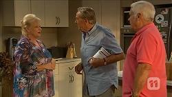 Sheila Canning, Doug Harris, Lou Carpenter in Neighbours Episode 6859