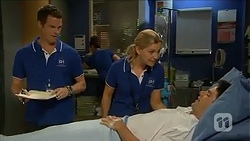 Will Dampier, Georgia Brooks, Chris Pappas in Neighbours Episode 6860