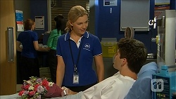 Georgia Brooks, Chris Pappas in Neighbours Episode 6860