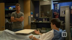 Mark Brennan, Chris Pappas in Neighbours Episode 6861