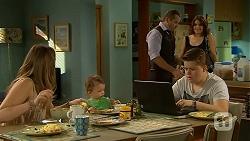 Sonya Mitchell, Nell Rebecchi, Toadie Rebecchi, Callum Jones, Naomi Canning in Neighbours Episode 6862