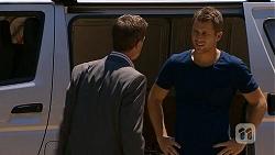 Paul Robinson, Mark Brennan in Neighbours Episode 6862