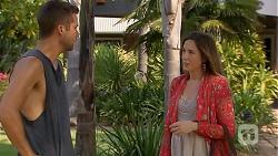 Mark Brennan, Sonya Mitchell in Neighbours Episode 6862