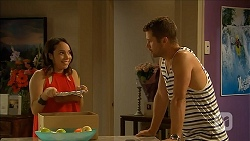 Imogen Willis, Mark Brennan in Neighbours Episode 6863
