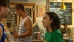 Brad Willis, Mark Brennan, Imogen Willis in Neighbours Episode 6863