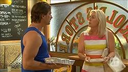 Brad Willis, Lauren Turner in Neighbours Episode 6863