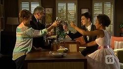 Susan Kennedy, Karl Kennedy, Zeke Kinski, Vic Elmahdi in Neighbours Episode 6863