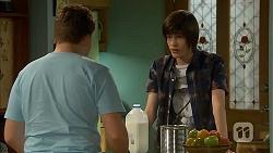 Callum Rebecchi, Bailey Turner in Neighbours Episode 6865