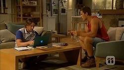 Brad Willis, Josh Willis in Neighbours Episode 6865