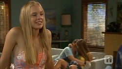 Josie Mackay, Callum Rebecchi, Josie Lamb in Neighbours Episode 6865