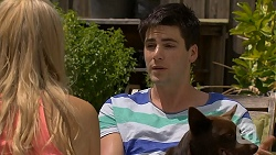 Amber Turner, Chris Pappas, Bossy in Neighbours Episode 6866