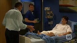 Karl Kennedy, Will Dampier, Chris Pappas in Neighbours Episode 6867