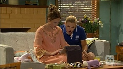 Sonya Rebecchi, Georgia Brooks in Neighbours Episode 6868