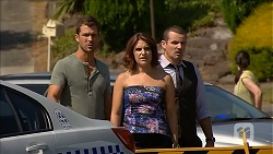Mark Brennan, Naomi Canning, Toadie Rebecchi in Neighbours Episode 6870