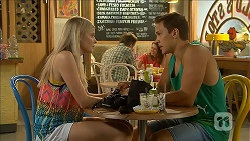 Amber Turner, Josh Willis in Neighbours Episode 6870