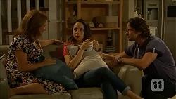 Terese Willis, Imogen Willis, Brad Willis in Neighbours Episode 6870