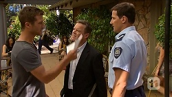Mark Brennan, Paul Robinson, Matt Turner in Neighbours Episode 6871