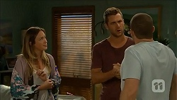 Sonya Mitchell, Mark Brennan, Toadie Rebecchi in Neighbours Episode 6872