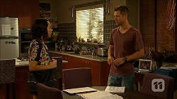 Imogen Willis, Mark Brennan in Neighbours Episode 6872