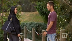 Tracey Wong, Mark Brennan in Neighbours Episode 6872
