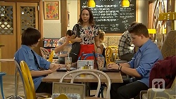 Bailey Turner, Imogen Willis, Callum Jones in Neighbours Episode 6873
