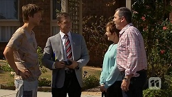 Daniel Robinson, Paul Robinson, Susan Kennedy, Karl Kennedy in Neighbours Episode 6873