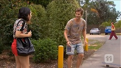 Imogen Willis, Daniel Robinson in Neighbours Episode 6873
