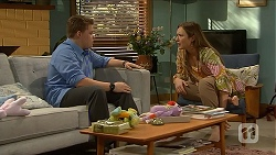Callum Jones, Sonya Mitchell in Neighbours Episode 6873