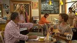 Karl Kennedy, Georgia Brooks, Daniel Robinson in Neighbours Episode 6873