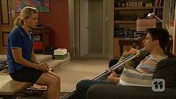 Georgia Brooks, Chris Pappas in Neighbours Episode 6874