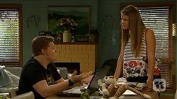 Callum Jones, Josie Lamb in Neighbours Episode 6874