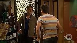 Will Dampier, Chris Pappas in Neighbours Episode 6874