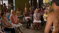 Susan Kennedy, Lauren Turner, Sheila Canning, Lou Carpenter, Matt Turner in Neighbours Episode 6875