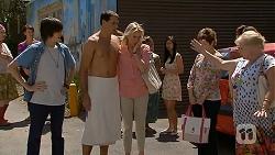 Bailey Turner, Matt Turner, Lauren Turner, Susan Kennedy, Sheila Canning in Neighbours Episode 6875