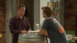 Paul Robinson, Daniel Robinson in Neighbours Episode 6875