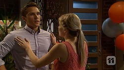 Josh Willis, Amber Turner in Neighbours Episode 6875