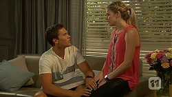 Josh Willis, Amber Turner in Neighbours Episode 6876