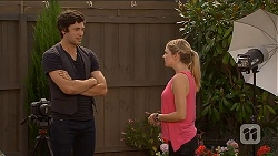 Rick Blaine, Amber Turner in Neighbours Episode 6876