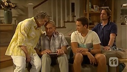 Pam Willis, Doug Willis, Josh Willis, Brad Willis in Neighbours Episode 6876