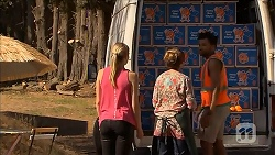 Amber Turner, Sonya Rebecchi, Jed Green in Neighbours Episode 6876