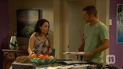Imogen Willis, Mark Brennan in Neighbours Episode 6877