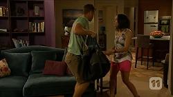 Mark Brennan, Imogen Willis in Neighbours Episode 6877