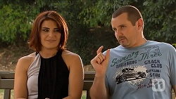 Naomi Canning, Toadie Rebecchi in Neighbours Episode 6877