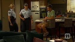Snr. Const. Kelly Merolli, Mark Brennan in Neighbours Episode 6877