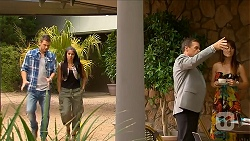Mark Brennan, Sienna Matthews, Paul Robinson in Neighbours Episode 6878