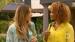 Sonya Mitchell, Mandy Edwards in Neighbours Episode 6878
